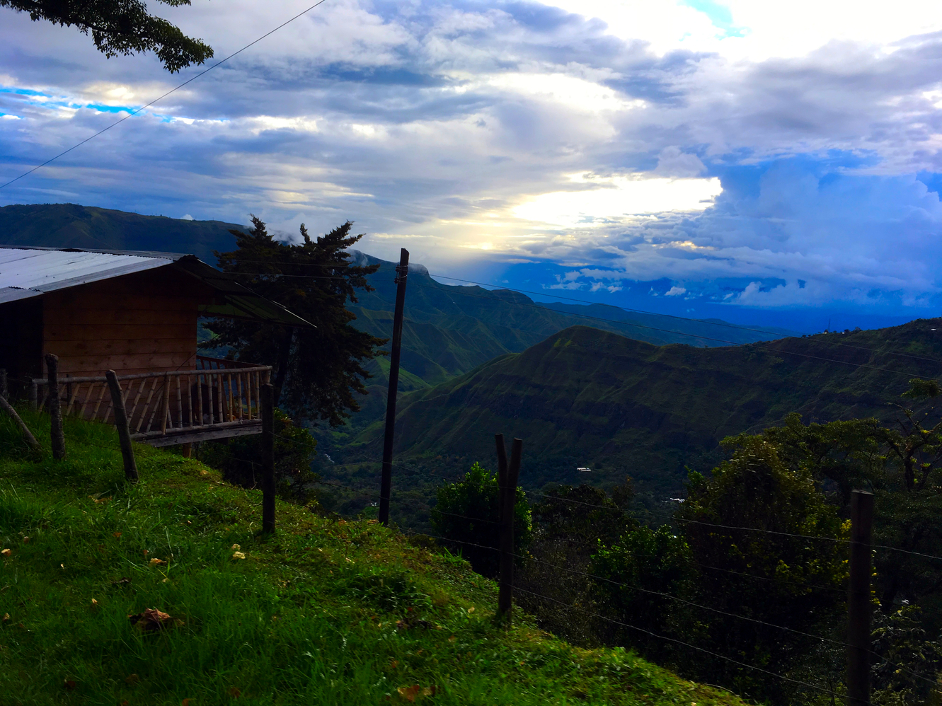 colombian overlanding down days